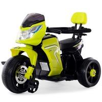 Электромотоцикл-велосипед RiverToys О777ОО от 1 года (зеленый) (256741)