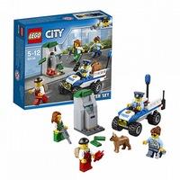 Игрушка город  набор для начинающих полиция60136 (257789)