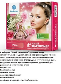 Набор для творчества юный парфюмер мини роза (257869)