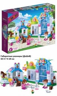 Констр-р магазин домашних животных,320 дет. (259770)