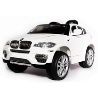 Электромобиль BMW X6 JA-JJ258 (1-7 лет) белый, глянцевый (268686)