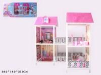 Кукольный домик 3 этажа с аксесс 103*77*100 см (271695)