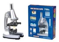 Набор первые открытия, микроскоп, аксесс., мет., цвет в ассорт., кор. (274225)