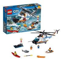 Игрушка город сверхмощный спасательный вертолёт60166 (276897)