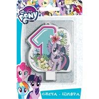 Свеча цифра №1, My Little Pony (280210)