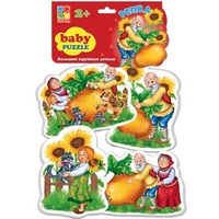 Мягкие пазлы  baby puzzle сказки репка  (287294)